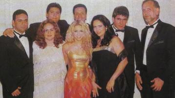 Shakira mit ihren Geschwistern